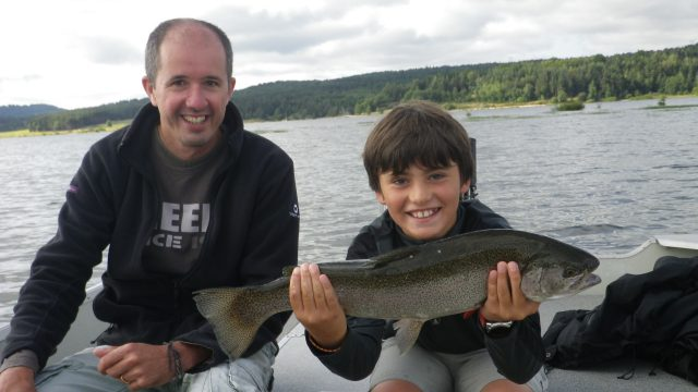 Ouverture lac de Naussac